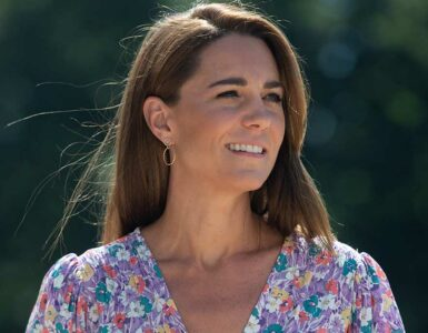 Duchess Kate at children's hospice garden